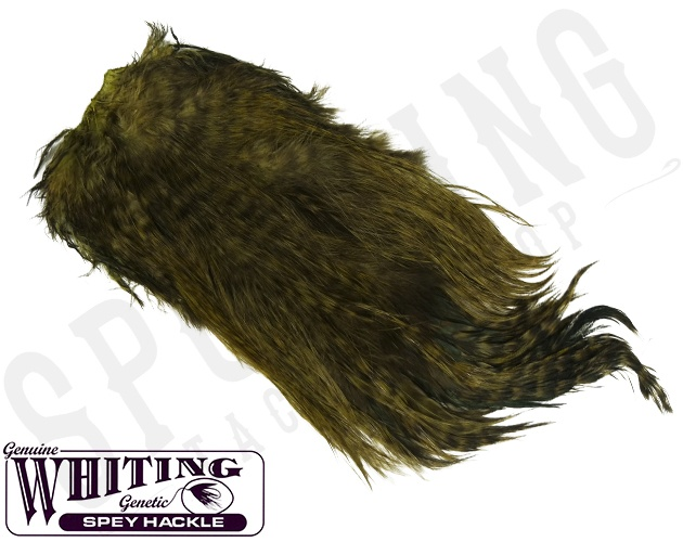 Details about  /Whiting Spey Saddle Silver Grade 6 Colors Selection Spey Saddle Whiting Spey show original title